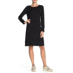 Premise Studio Crew Neck Long Sleeve Sweater Dress